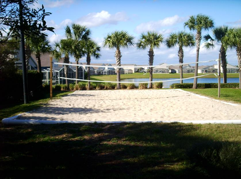 hampton lakes sand volley ball court